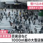 緊急事態宣言下の大阪で何をしますか?