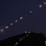 スーパームーンの皆既月食を次はどこで見ているでしょう。